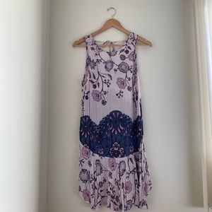 Free People Dresses - Free people high neck slip dress